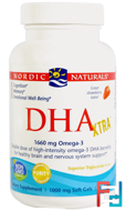 DHA Xtra, Strawberry, 1000 mg, Nordic Naturals, 60 Soft Gels