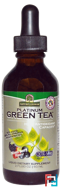 Platinum Green Tea, High Antioxidant, Mixed Berry Flavor, Nature's Answer, 2 fl oz, 60 ml