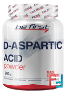 D-Aspartic Acid powder, Be First, 200 g