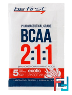Пробник BCAA 2:1:1 Powder, Be First, 5 g