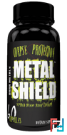 Metal Shield, Dark Metal, 60 caps