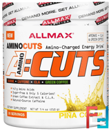 AMINOCUTS (ACUTS), Weight-Loss BCAA (CLA + Taurine + Green Coffee), ALLMAX Nutrition, 7.4 oz, 210 g