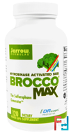 BroccoMax, Myrosinase Activated, Jarrow Formulas, 120 Veggie Caps