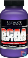 BCAA Softgels, Ultimate Nutrition, 180 capsules