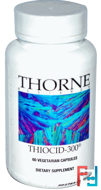 Thiocid-300, Thorne Research, 60 Vegetarian Capsules