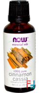 Essential Oils, Cinnamon Cassia, Now Foods, 30 ml