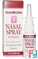 Nasal Spray, with Grapefruit Seed Extract, NutriBiotic, 1 fl oz (29.5 ml)