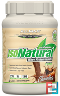 IsoNatural, 100% Ultra-Pure Natural Whey Protein Isolate, Chocolate, ALLMAX Nutrition, 2 lbs (907 g)
