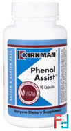 Phenol Assist, Kirkman Labs, 90 Capsules
