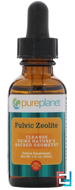 Fulvic Zeolite, Pure Planet, 1 fl oz (30 ml)