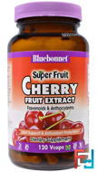 Super Fruit, Cherry Fruit Extract, Bluebonnet Nutrition, 120 Veggie Caps