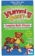Yummi Bears, Multi-Vitamin & Mineral, Vegetarian, Sour, Hero Nutritional Products, 90 Gummy Bears