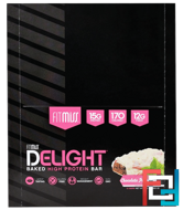 Delight Baked High Protein Bar, Chocolate Peppermint, FitMiss, FitMiss, 12 Bars, 1.76 oz (50 g) Each