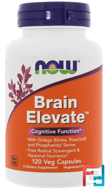 Brain Elevate, Now Foods, 120 Veg Capsules