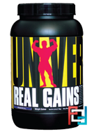 Real Gains, Weight Gainer, Universal Nutrition, 3.8 lb, 1730 g