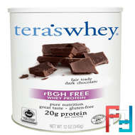 Simply Pure Whey Protein, Tera's Whey, 12 oz, 340 g