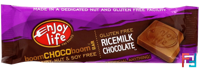 Chocolate Flavored Confectionary Bars, Ricemilk, Enjoy Life Foods, 1.12 oz (32 g)