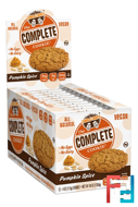 The Complete Cookie, Pumpkin Spice, Lenny & Larry's, 12 Cookies, 4 oz (113 g) Each