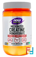 Creatine Monohydrate, Micronized, Now Foods, 1.1 lbs, 500 g