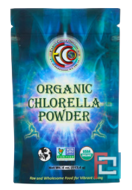 Organic Chlorella Powder, Earth Circle Organics, 4 oz, 113.4 g