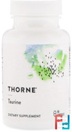 Taurine, Thorne Research, 500 mg, 90 Veggie Caps