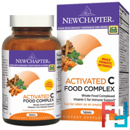 Activated C Food Complex, New Chapter, 180 Vegetarian Tablets