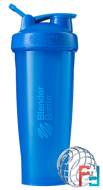 BlenderBottle, Classic With Loop, Cyan, Sundesa, 32 oz