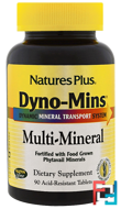 Dyno-Mins, Multi-Mineral, Nature's Plus, 90 Acid-Resistant Tablets