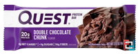 Quest Nutrition, QuestBar, Protein Bar, Double Chocolate Chunk, 60 g
