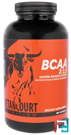 BCAA 2:1:1 Ratio, Betancourt Nutrition, 300 capsules