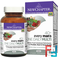 40+ Every Man's One Daily Multi, New Chapter, 72 Tablets
