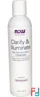 Clarify & Illuminate Cleanser, Solutions, Now Foods, 237 ml