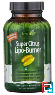Super Citrus Lipo-Burner, Irwin Naturals, 60 Liquid Soft-Gels