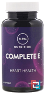 Complete E, Nutrition, MRM, 60 Softgels