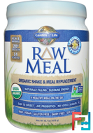 Organic Shake & Meal Replacement, Garden of Life, RAW Meal, 16.7 oz, 475 g