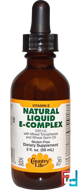 Natural Liquid E-Complex, Country Life, 240 IU, 2 fl oz (59 ml)