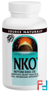 NKO (Neptune Krill Oil), 500 mg, Source Naturals, 120 Softgels