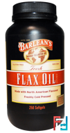 Fresh Flax Oil, Barlean's, 250 Softgels