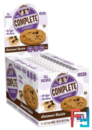 The Complete Cookie, Oatmeal Raisin, Lenny & Larry's, 12 Cookies, 4 oz (113 g) Each