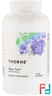 Meta-Fem, Thorne Research, 240 Vegetarian Capsules