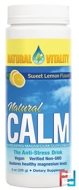 Natural Calm, The Anti-Stress Drink, Organic Sweet Lemon Flavor, Natural Vitality, 8 oz (226 g)
