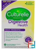 Digestive Health, Daily Probiotic, Culturelle, 50 Once Daily Vegetarian Capsules