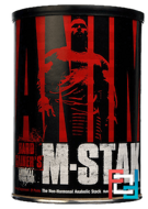 Animal M-Stak, The Non-Hormonal Anabolic Stack, Universal Nutrition, 21 Packs