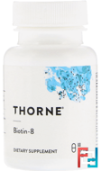 Biotin-8, Thorne Research, 60 Vegetarian Capsules