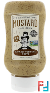 Spicy Brown Mustard, Sir Kensington's, 9 oz (255 g)