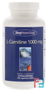 L-Carnitine, Allergy Research Group, 1000 mg, 100 Vegetarian Tablets