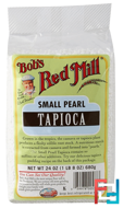 Small Pearl Tapioca, Bob's Red Mill, 24 oz (680 g)