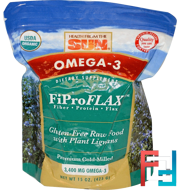Omega-3, Original FiProFlax, Health From The Sun, 15 oz (425 g)