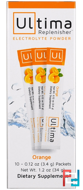 Ultima Replenisher, Electrolyte Powder, Orange, Ultima Health Products, 10 Packets * 3.4 g