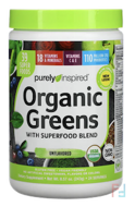 Organic Greens, Unflavored, Purely Inspired, 7.17 oz (203 g)
